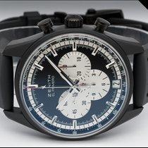 Zenith Chronograph 42mm Automatic 2017 pre-owned El Primero Chronomaster Black