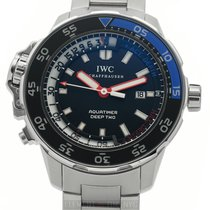 IWC Aquatimer Deep Two Steel 46mm Black United States of America, New York, New York