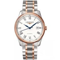 Longines new Automatic Display Back Center Seconds Blue Steel Hands 42,00mm Steel Sapphire Glass