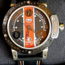 B.R.M Titanium 44mm Automatic DDF6 44 GULF LIMITED EDITION 15/18 new