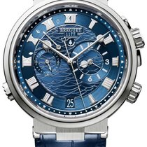 Breguet new Automatic Skeletonized White gold