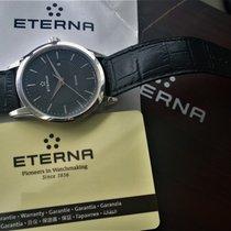 Eterna Steel 40mm Quartz E2520-41-41-1258 pre-owned Finland, Imatra