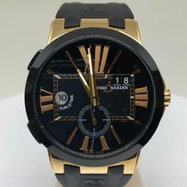 Ulysse Nardin Executive Dual Time Rose gold 43mm Black Roman numerals United States of America, Louisiana, New Orleans