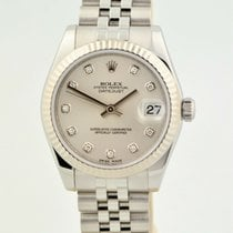 Rolex Lady-Datejust pre-owned 31mm Silver Steel