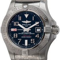 Breitling Avenger II Seawolf Steel 45mm Black Arabic numerals United States of America, Texas, Austin