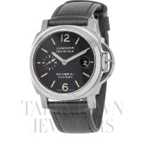 Panerai Luminor Marina Automatic pre-owned 40mm Black Date Leather