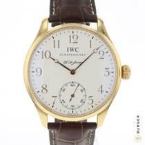 IWC Portuguese Hand-Wound Rose gold 43mm White Arabic numerals