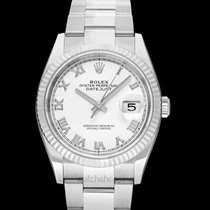 Rolex Lady-Datejust 126234 White Roman Oyster 2019 new