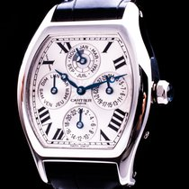 Cartier Tortue W1540551 Sehr gut Platin 34mm Automatik