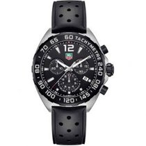 TAG Heuer Formula 1 Quartz Steel 43mm Black Arabic numerals United States of America, Pennsylvania, Holland