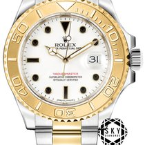 Rolex Yacht-Master 40 Gold/Steel 40mm White No numerals United States of America, New York, New York