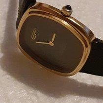 Pequignet Gold/Stahl 27mm Handaufzug 73.762 gebraucht