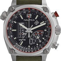 Nautica Steel 47mm Quartz new