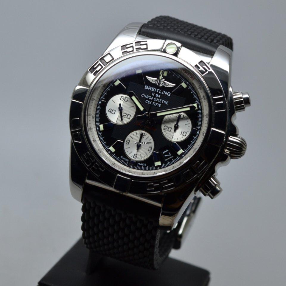 Breitling Chronomat 44 500M Full Set 2014 LC EU 3 Straps