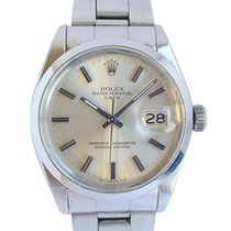 Rolex Oyster Perpetual Date Steel 34mm Silver No numerals United Kingdom, Westhoughton