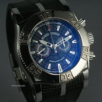 Roger Dubuis Easy Diver Chrono Black Carbon Dial