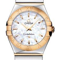 Omega Or/Acier 24mm Quartz Constellation nouveau