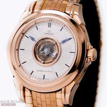Omega DeVille Center Tourbillion Ref-51333000 18k Rose Gold...