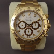 Rolex Daytona Zenith Yellow Gold Diamond Dial ( Full Set )