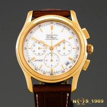 Zenith El  Primero  Chronograph  18K Gold Limt.Ed.900 Box & Pap