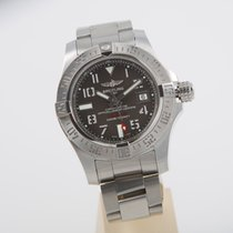 Breitling Avenger II Seawolf perfect condition box papers GREY...