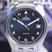 Union Glashütte Acier 39mm Remontage automatique 26-11-07-47-10 occasion