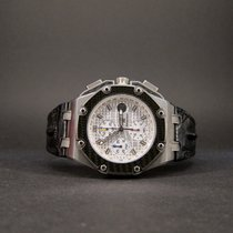 Audemars Piguet Royal Oak Offshore Chronograph Titanium 44mm Silver No numerals