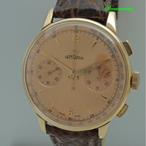 Lemania Rose gold 40mm Manual winding pre-owned