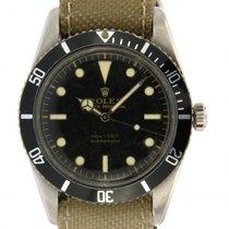 Rolex | Vintage Submariner, Stainless steel Ref.6536/1