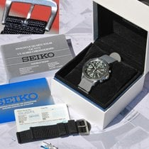 Seiko Prospex Solar Chronograph Ssc135p1 Eccellenti Condizioni...