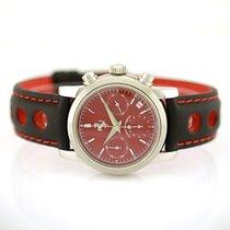 Girard Perregaux Ferrari Chronograph Edelstahl Ref. 8020
