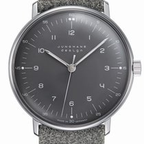 Junghans 34mm Manual winding new max bill Hand-winding Grey