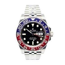"""Rolex GMT-Master II """"Pepsi"""" Full Set Ref. 126710 BLRO"""