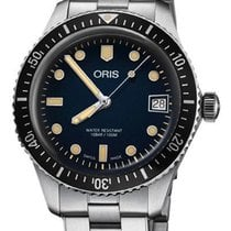 Oris 01 733 7747 4055-07 8 17 18 Steel Divers Sixty Five 36mm new