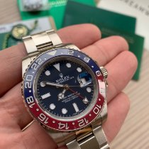 Rolex 116719BLRO Or blanc GMT-Master II 40mm