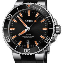 Oris Aquis Date Steel 44mm Black