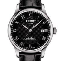 Tissot Le Locle Steel 39.3mm Black Roman numerals