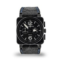 Bell & Ross BR 03-94 Chronographe Steel 42mm Black Arabic numerals United States of America, Texas, Dallas