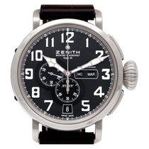 Zenith Pilot Type 20 Annual Calendar Steel 47mm Black Arabic numerals
