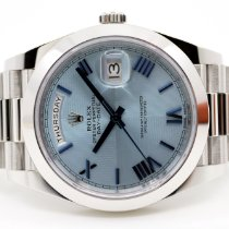 Rolex Platinum 40mm Automatic 228206 pre-owned