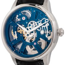 Maurice Lacroix Masterpiece Squelette Staal 43mm