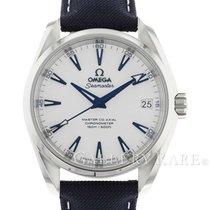 Omega Seamaster Aqua Terra Titanium 38.5mm White No numerals