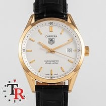 TAG Heuer Geelgoud Automatisch Wit 40mm tweedehands Carrera