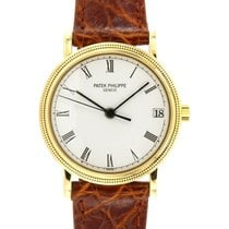 Patek Philippe Yellow gold 33mm Automatic 3802 pre-owned
