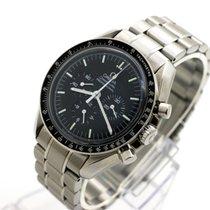 Omega Çelik Elle kurmalı Siyah Sayılar yok 42mm ikinci el Speedmaster Professional Moonwatch