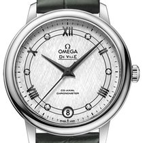 Omega new Automatic Center Seconds Gemstone Chronometer 32.7mm Steel Sapphire Glass