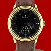 블랑팡 옐로우골드 35.5mm 자동 Blancpain 1106 중고시계