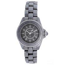 Chanel Titanium Quartz Grey 33mm pre-owned J12
