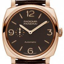 沛納海 Radiomir 1940 3 Days Automatic 新的 2019 自動發條 附正版包裝盒和原版文件的手錶 PAM 00573