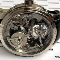 高珀富斯 白金 47.5mm 手动上弦 Double Tourbillon 30° 二手
